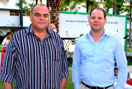 Global Solidor consultants Juerg Odermatt and Bastian Lobemeier.