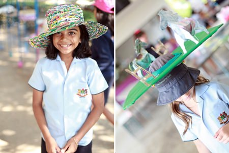 All kinds of colourful creations were on display at GIS.