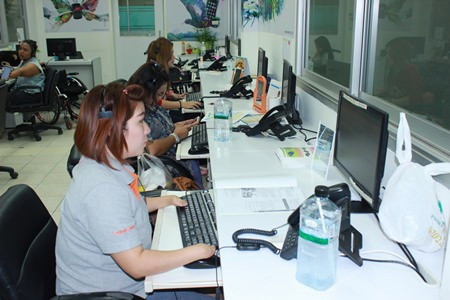 Power Buy opened a center at the Pattaya Redemptorist Foundation to provide the disabled with employment.