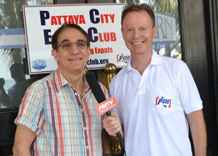 Ren Lexander interviews Steven Lance Stoll for Pattaya Mail TV about his presentation to the PCEC. It can be seen on You Tube: https://www.youtube.com/watch?v=s1QzvXL3zDY