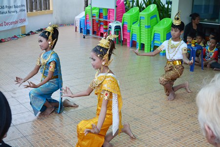 The children seemed to enjoy the Jan. 15 performances by three pupils from Pattaya Classic Music, as did the ladies' club members.