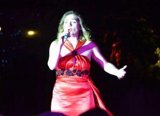 Russian singer Larissa Ezhelenko sang opera songs and the audience kept asking for more.