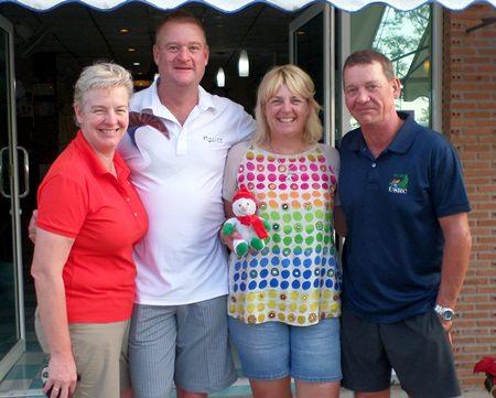 Joanne Kent, Hayden Kent, Karen Craigie and Glyn Davies.