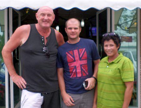 Kevin Hamilton with Chris Smith and Sa.