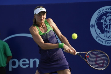 Slovakia's Daniela Hantuchova will be aiming for a hat-trick of tournament victories.