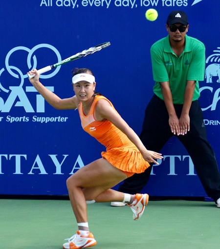 China's Shaui Peng will spearhead the Asian challenge.