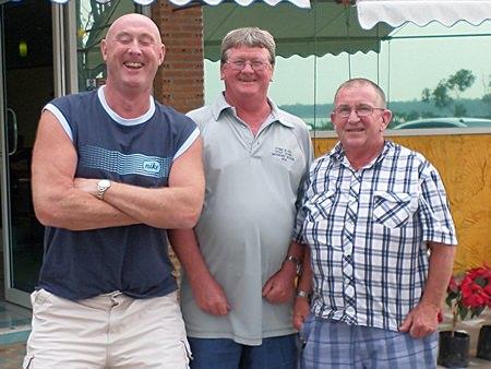 Kevin Hamilton, Wayne Cotterell and Noddy Moyle.