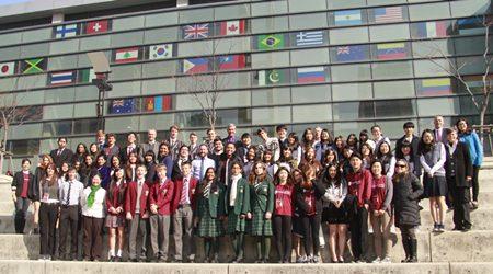 Round Square Delegation.