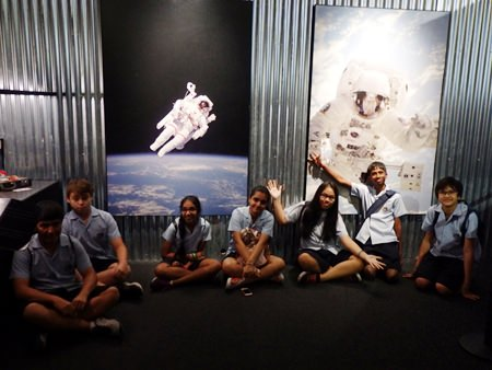 An out-of-this-world trip for GIS students!