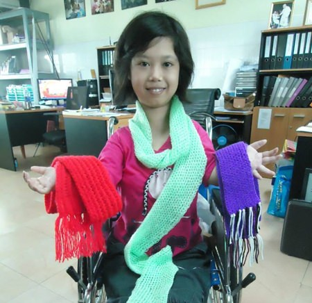 """The Camillian Home for Children Living with Disabilities in Latkrabang has launched their first ever online store, """"A Little Something Shop"""", selling handicrafts and accessories made by the children and daycare families."""