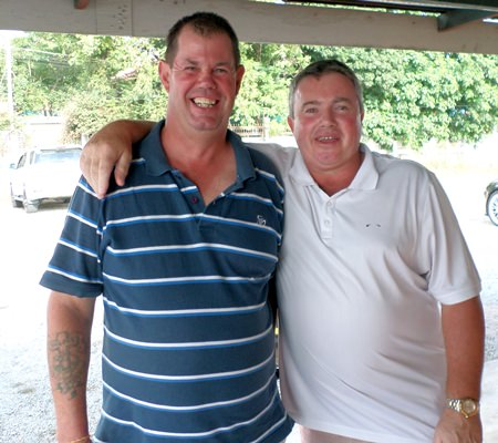 Kevin Wild and Richard Steadman.