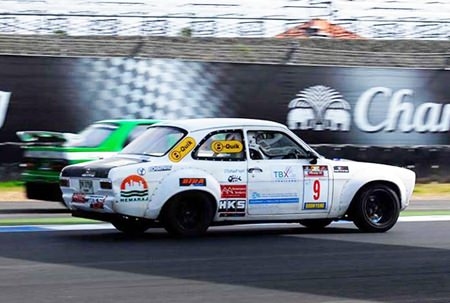 The Doc puts a Mk1 Escort through its paces at the Buriram Chang Circuit in Thailand.