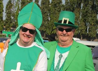 St. Patrick and Derrick Kane.