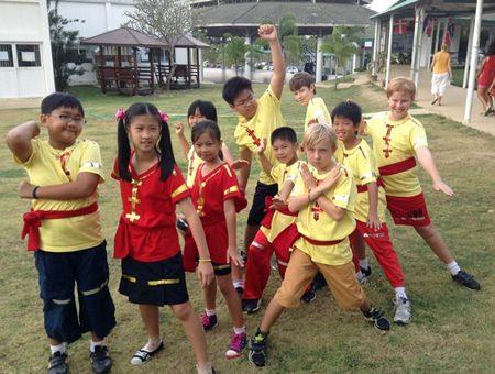 St. Andrews Year 5 Ninja Warriors!