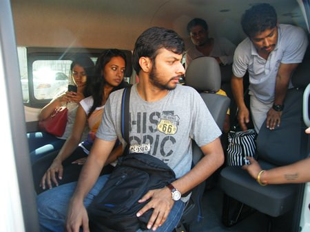 A 12 men and 3 women film crew from Orange Pixel Co. were arrested for working without permits.