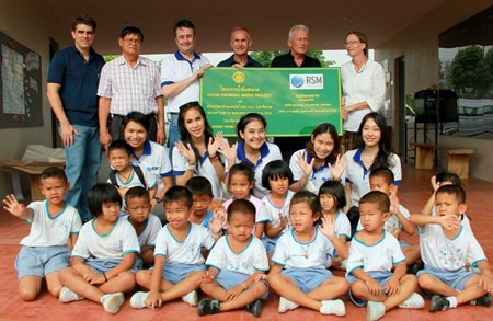 Mark Butters, Mike Doyle, John Quarmby, and a group of RSMAT staff travelled up to Chaiyaphum.