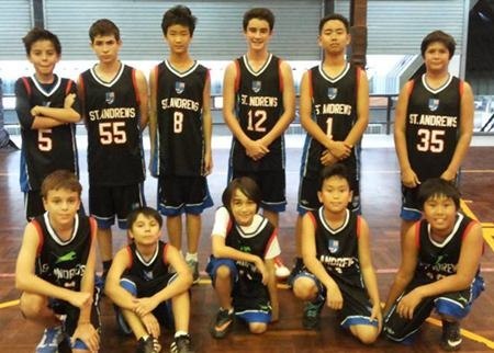 St. Andrews basketball squad.