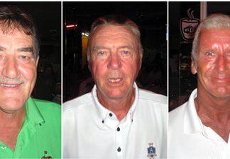 (L-R) Bruce Gardner, Kit Parkington and Pete Sumner.