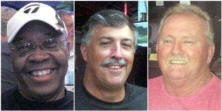 Danny Miller, Hal Hart & Shane Elder.