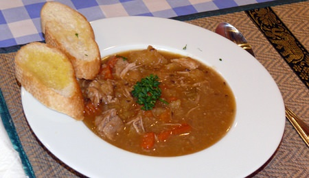 Hungarian goulash.