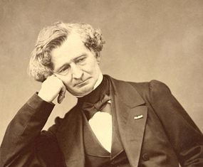 Berlioz in 1863. (Photo/Pierre Lanith Petit)