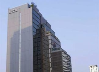 The new Amara Bangkok hotel.