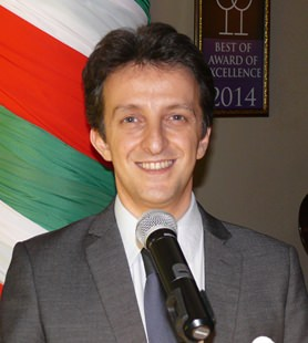 The guest speaker and guide was Michele di Lorenzo, a most buoyant and enthusiastic Italian.