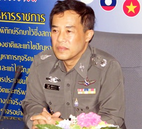 Pol. Gen. Wuthi Liptapanlop, deputy commissioner-general of the Royal Thai Police and director of the ASEAN Center at immigration's Jomtien Soi 5 office.