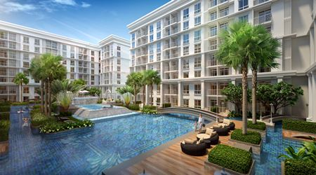 The project will feature three low-rise condominium buildings and 526 individual units.