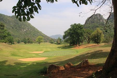 One of the many stunning vistas at Khao Yai Golf Club.