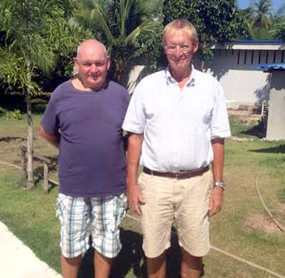 Paul Davies and Willem Lasonder.