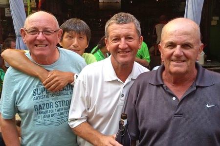 John Hutt, Kenny Aihara, Gary Emmett and Ken Grimes.