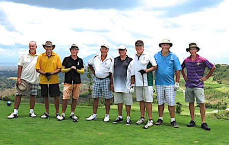 IPGC golfers in the Philippines.