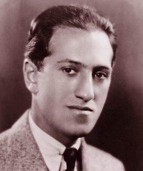 Modest start: George Gershwin.