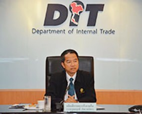 Director General of the Department of Internal Trade Boonyarit Kalayanamit.