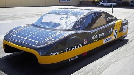 Solar car for sunny days.
