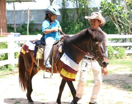 Horse Therapy can be beneficial to children with special needs.