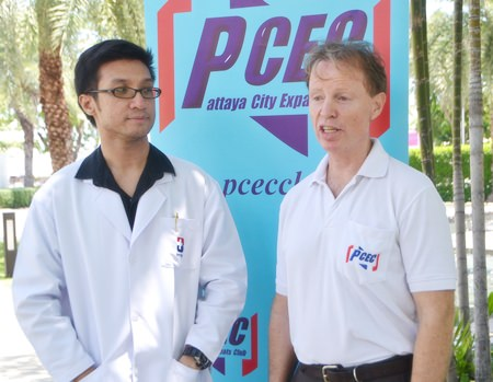 PCEC Member Ren Lexander interviews Dr. Somrot about his presentation to the PCEC. To see the interview, visit: https://www.youtube.com/watch?v=QluPK4EuQi8.