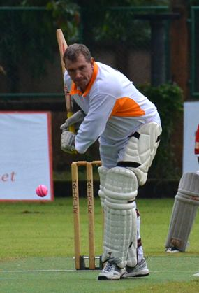 Pattaya captain Simon Philbrook produced a flamboyant knock of 92 not out to set his team on the road to victory against Amphawa CC in Bangkok.