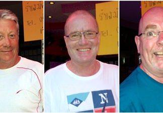 John Walsh, Roger DeJongh & Steve Ironside.