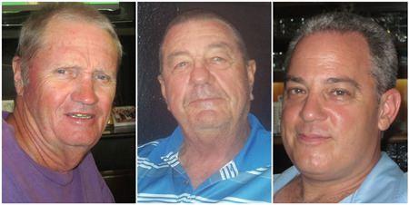 (L-R) Paul Taylor, Darryl Kellett and Mike Dabanovich.