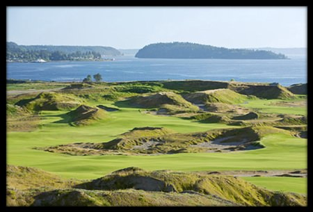 Chambers Bay – host of this year's US Open.