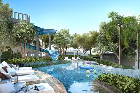 Unixx South Pattaya will incorporate a range of leisure features in its 4 rai of common area.
