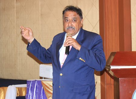 """Pratheep """"Peter"""" Malhotra, MD of Pattaya Mail, talks about the need for more foreign teachers to teach English."""