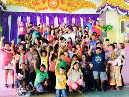 The Social Security Department has chosen 47 children in Nongprue to receive scholarships.