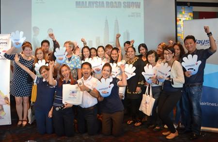 Chai yo! 28 local travel agents join the Malaysia Airline seminar.