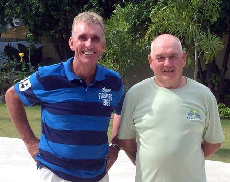 Neil Harvey & Paul Davies.