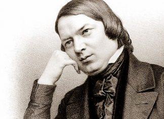 Robert Schumann (circa 1850).