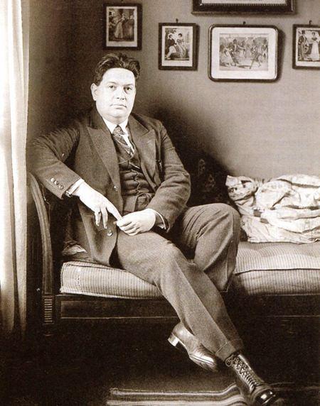 Darius Milhaud (circa 1920).