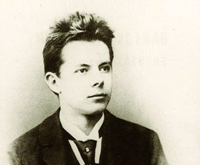Bartók's high-school-graduation photo, 1899.